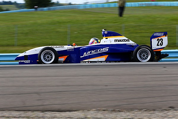 Pro Mazda Race report Watkins Glen Pro Mazda: Franzoni stretches lead over Martin