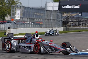 IndyCar Qualifying report Indy GP: Power shatters lap record to take pole