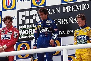 F1 Nostalgia A 24 años del podio de 'los increíbles'