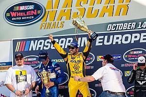 NASCAR Euro Race report Alon Day celebrates winning Whelen Euro championship