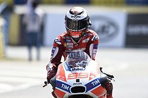 MotoGP Новость Лоренсо назвал поведение мотоцикла Ducati нелогичным