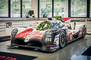 24 heures du Mans Diaporama La Toyota victorieuse au Mans de retour à Cologne