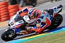 MotoGP Petrucci celebra pódio após má fase no início do ano