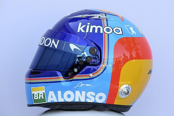 Formel 1 Fotostrecke Bildergalerie: Die Helmdesigns der Formel-1-Fahrer 2018