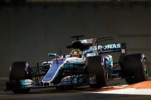 F1 Reporte de prácticas Lo mejor del viernes en Abu Dhabi fue de Hamilton