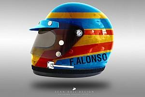 Формула 1 Топ список Галерея: шоломи гонщиків Формули 1 у стилі 70-х