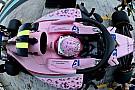 Force India aprobó pruebas de choque a pesar del