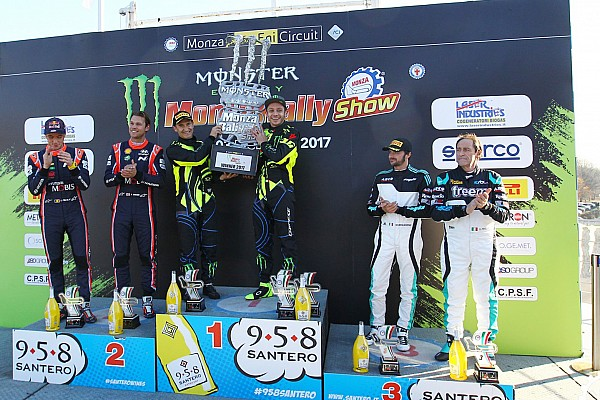 Other rally Valentino Rossi remonta y conquista su sexto Monza Rally Show
