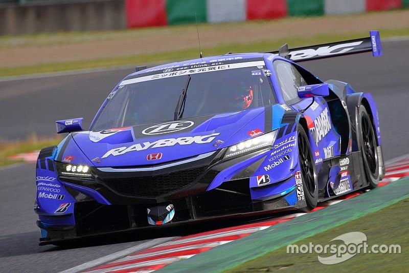 Button tops Day 1 of Suzuka Super GT test
