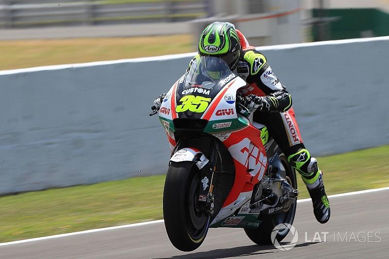 Jerez MotoGP: Crutchlow breaks lap record to take pole