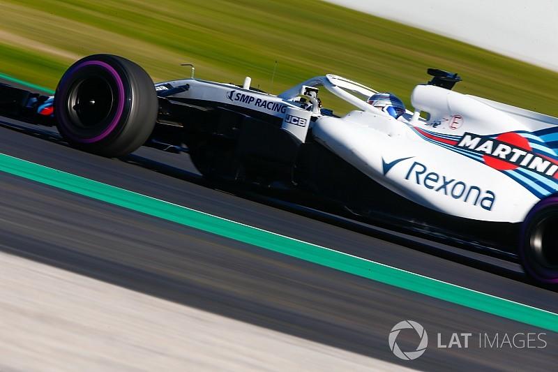 Williams admite dificuldades, mas mira evolução em 2018