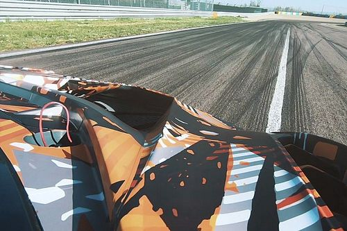 VIDEO: Shakedown van de nieuwe Lamborghini Squadra Corse V12