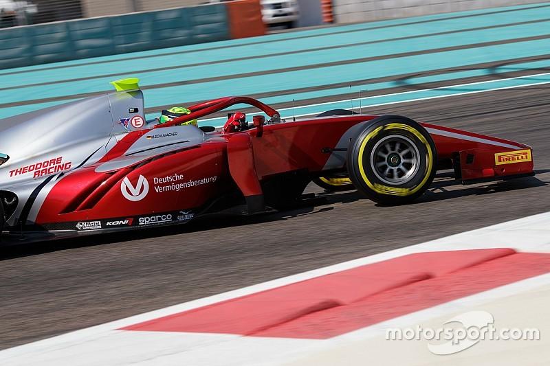 Mick Schumacher bei erstem Formel-2-Test Zwölfter: