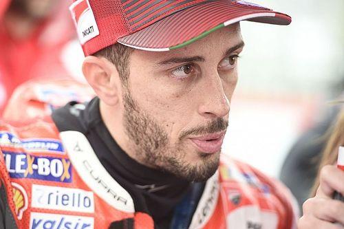 MotoGP: Dovizioso quebra clavícula esquerda após acidente de motocross