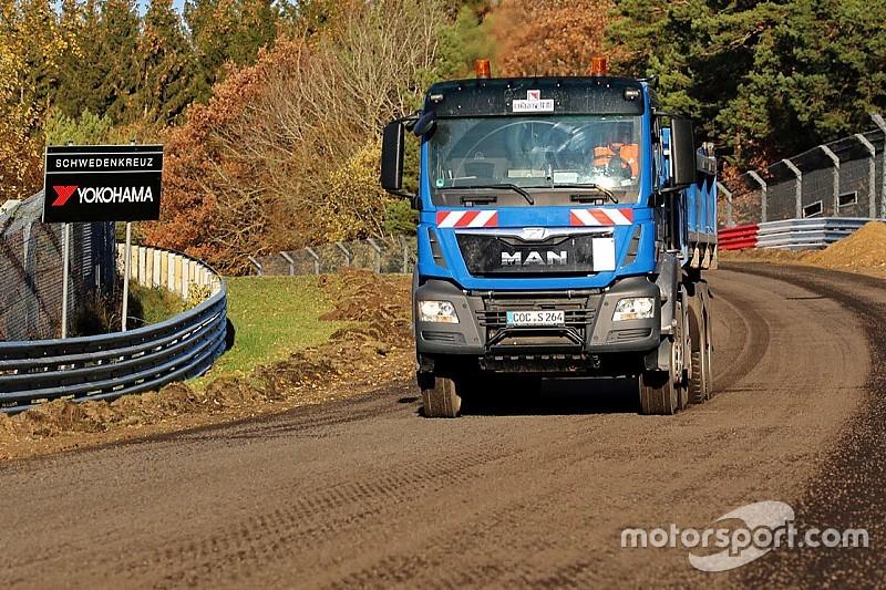 Fotostrecke: Bauarbeiten auf der Nürburgring-Nordschleife
