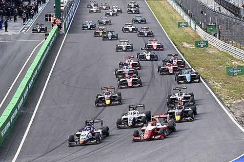 F2 en F3 op de schop in 2022: Format met drie races overboord