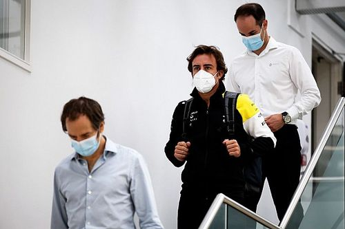 Renault: Alonso ha fatto ritorno a Enstone