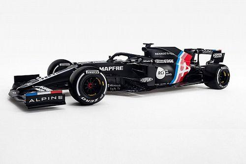 La Alpine A521 F1 è nera e verrà presentata a febbraio