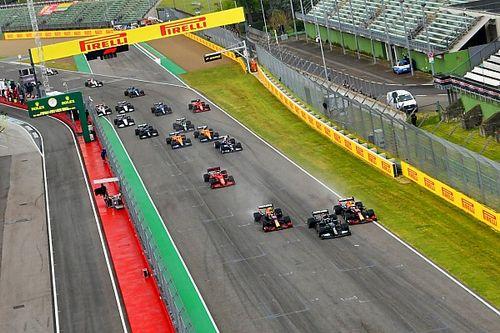 Verstappen hizo una salida tan buena que incluso le sorprendió