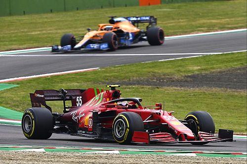 Sainz szerint más pályákon a McLaren előtt lehet a Ferrari