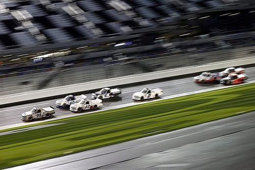 Ben Rhodes snags Daytona Road Course Truck win in 3OTs