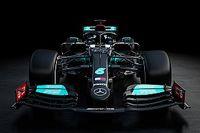 Mercedes W12: rimane il colore nero insieme all'argento