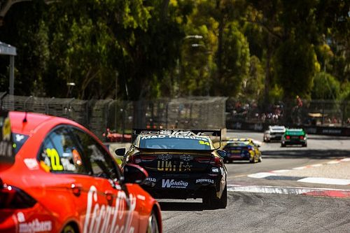 Supercars duo fined for missing pre-race national anthem