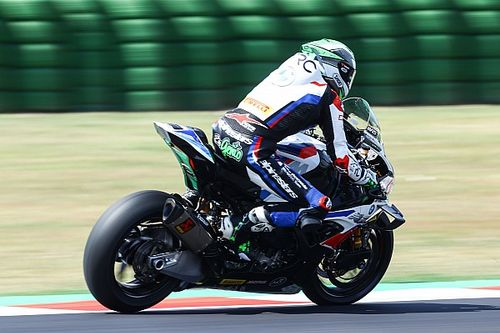 BMW rider Laverty declared unfit for first Misano WSBK race