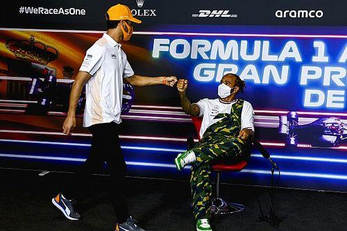 Ricciardo: la dura batalla de Hamilton silencia a sus críticos