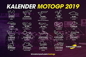 RESMI: Kalender MotoGP 2019