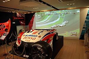 スーパーGT 速報ニュース 実物のパーツやマシンも展示! 新宿伊勢丹で「SUPER GT展」が開幕