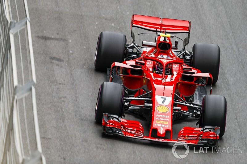 Vettel: Raikkonen's Ferrari F1 image distorted