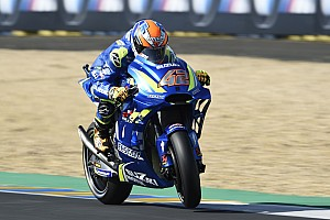 "MotoGP Declaraciones Rins: ""Nos costó gestionar la carrera saliendo 15º en parrilla"""