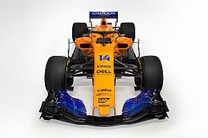 迈凯伦MCL33橙色涂装亮相