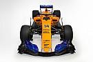 Lehullt a lepel az első McLaren-Renault versenygépről: MCL33