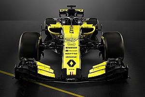 فريق رينو يكشف عن سيارته لموسم 2018