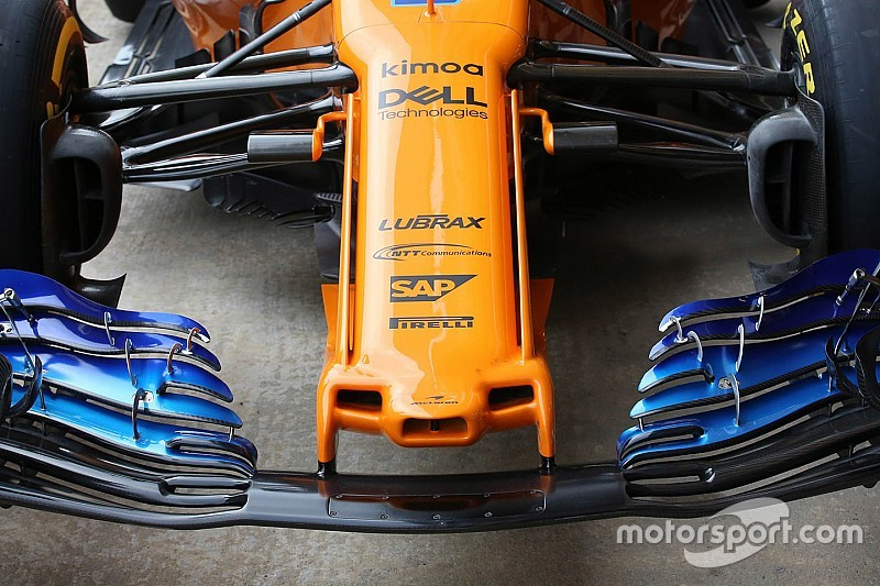 Tech analyse: De innovatieve neus van McLaren