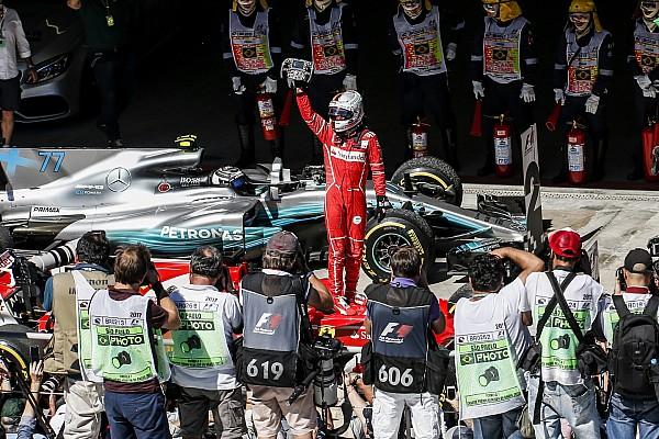 La historia detrás de la foto: Vettel y Ferrari vuelven a sus días de gloria