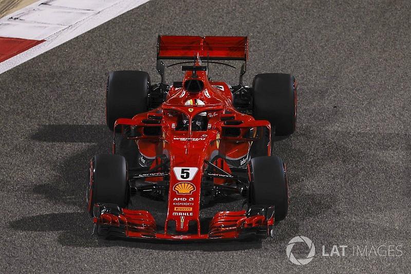 Vettel: Diğerlerinin önünde görünüyoruz