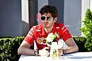Le Mans Giovinazzi rajthoz áll Le Mans-ban a Ferrari színeiben