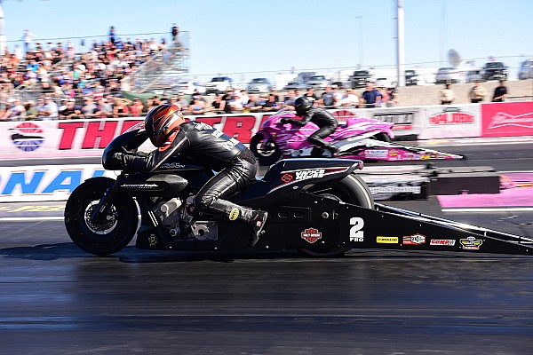 Krawiec takes Pro Stock Motorcycle world title and No. 1 qualifier