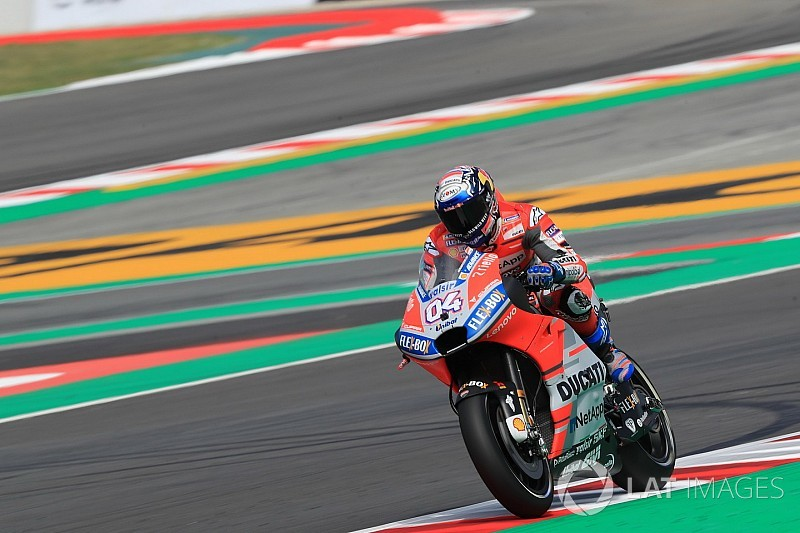 Dovizioso aan kop in opwarmsessie GP van Catalonië