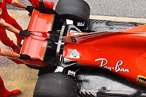 Formula 1 Analisi Ferrari: nuovo bracket sulla sospensione posteriore della SF71H