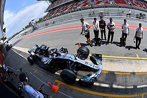 Формула 1 Отчет о тестах Боттас завершил тесты в Барселоне с лучшим временем