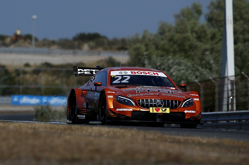 DTM на Зандворті: тріо Mercedes очолило першу практику