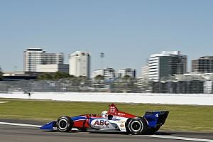 IndyCar Crónica de entrenamientos Leist logra el primer tiempo en la primera práctica de IndyCar