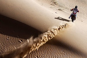 Cross-Country Rally Stage report Merzouga Rally: Barreda extends lead with stage win, despite fall