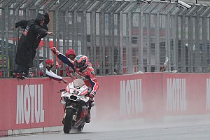 MotoGP Réactions Pas de victoire, mais pas d'amertume non plus pour Petrucci