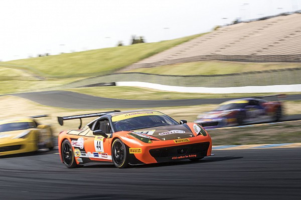 Ferrari North American Ferrari Challenge Sonoma results