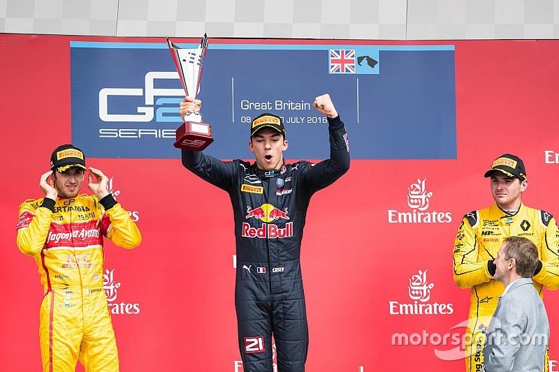 银石GP2主赛:加斯利千日后终获胜利